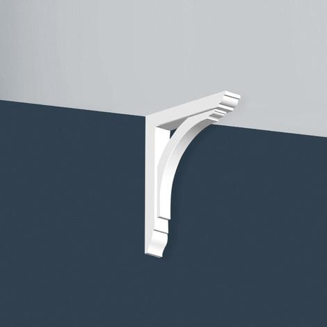Corbel Orac Decor GB02 XTERIO Corner element moulding Deco element timeless classic white