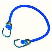 Corda Elastica Blu con Terminali in Metallo per Piscina - 60 Cm.