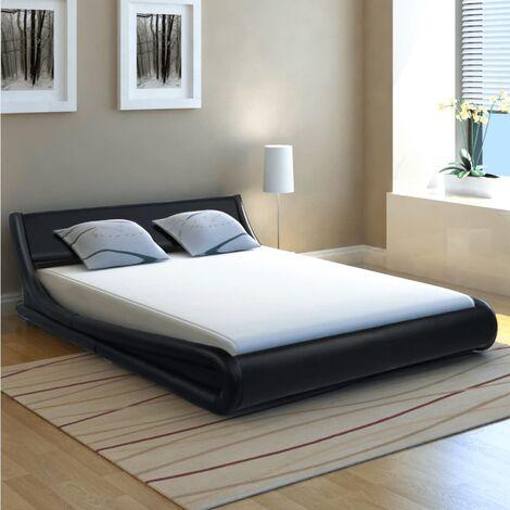 Corda Kingsize (5') Upholstered Platform Bed by Ivy Bronx - Black