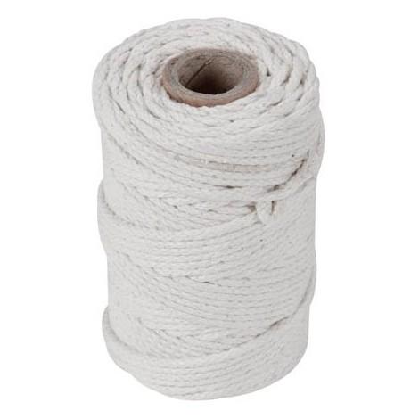 Cordage en coton - , 3 mm - longueur 100 m