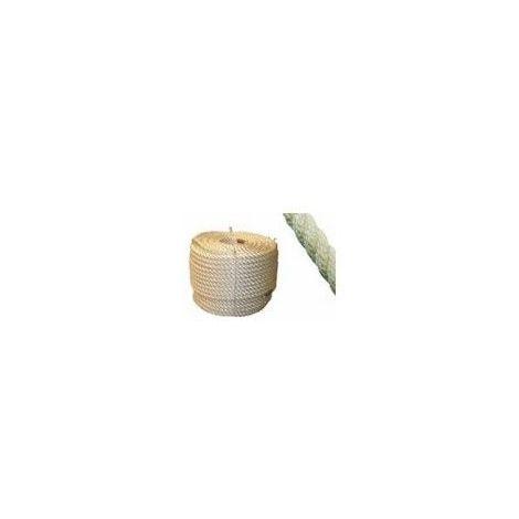 Corde Cordage Polyamide 10mm 20m PA Tress/é Nylon