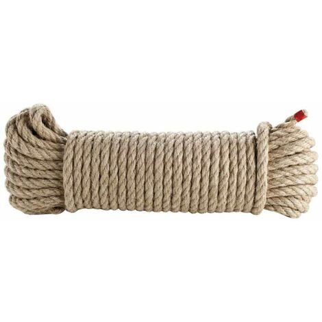 Corde 8mm x 20m en chanvre naturel