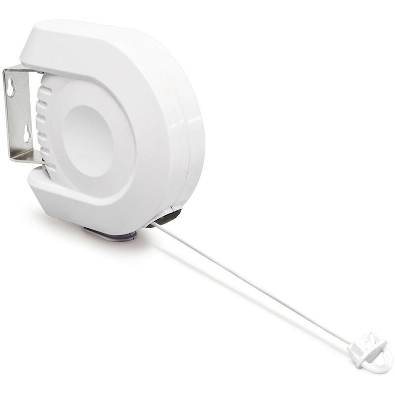 corde linges r tractable 12 m usage int rieur ext rieur. Black Bedroom Furniture Sets. Home Design Ideas