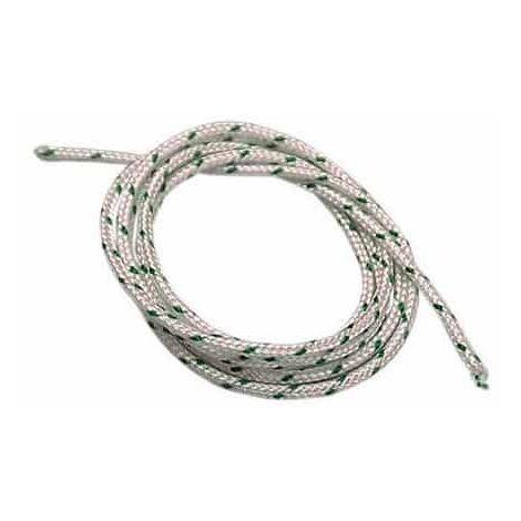Corde de lanceur prédécoupée - Longueur 1,80m - Diamètre 3,0 mm
