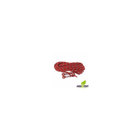 Corde de rappel pour élagage longueur 20 mètres Ø 11mm norme EN353-2