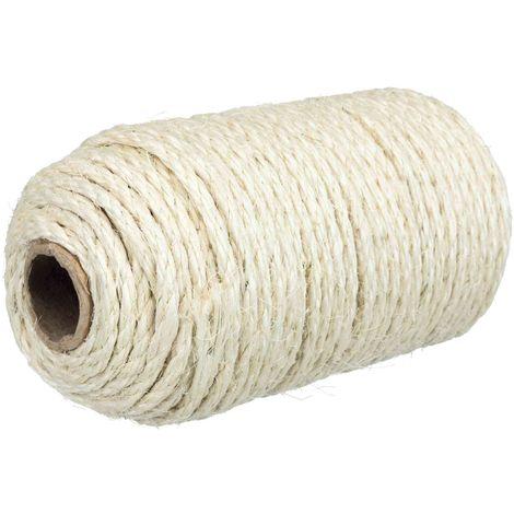Corde en sisal au rouleau - 50 m D4-6 mm Trixie