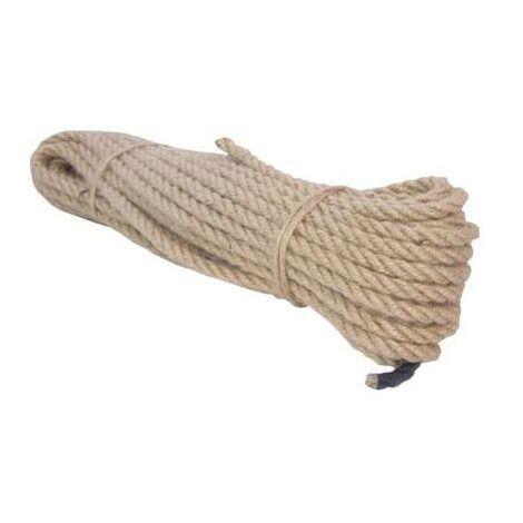 corde Jute longueur de 16 mm torsadé 20 m Profix 60842