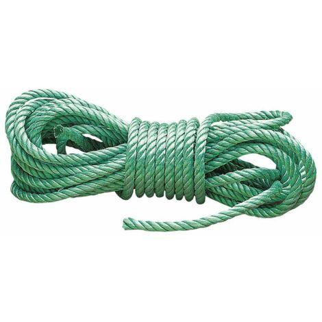 Corde polypropylène 15 m haute résistance Ø 14mm
