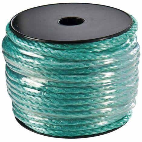 Corde polypropylène 40 m haute resistance Ø 6mm