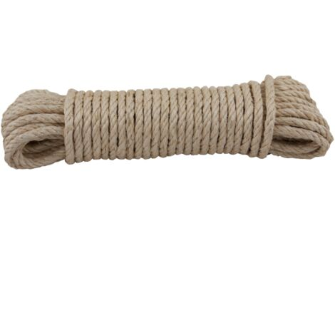 Corde Sencys - sisal naturel 6 mm x 20 m