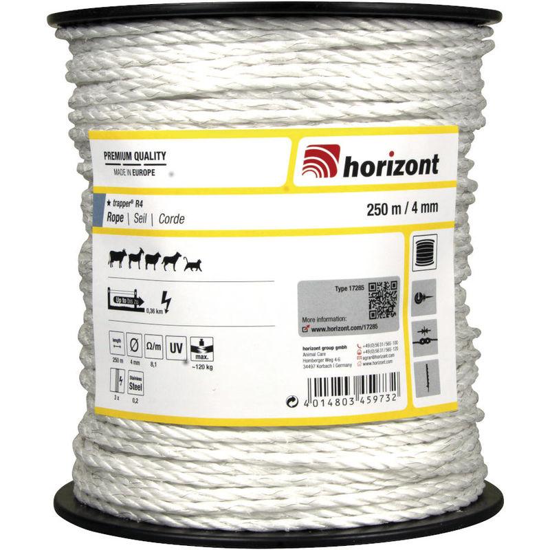 Corde TRAPPER 250m Diamètre 4mm - Horizont