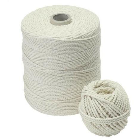 Cordeau coton câblé en bobine - plusieurs modèles disponibles