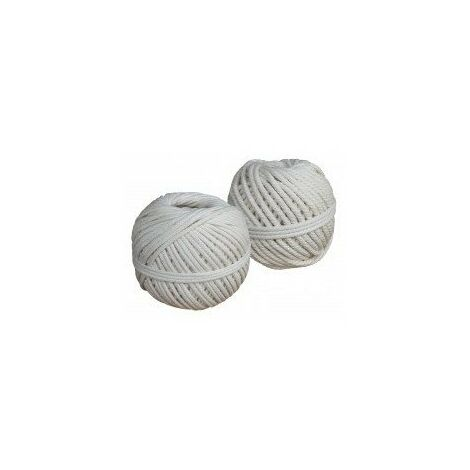 Cordeau coton tresse (1oog) n 75cxcot020p010 2mm