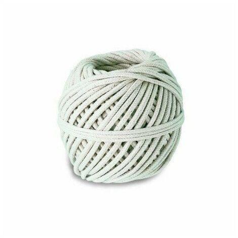 Cordeau coton tressé - Résistance a la rupture indicative 15 kg - Ø 1,5 mm x 66 m