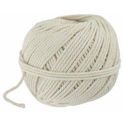 Cordeau de maçon en fil de coton blanc Outibat