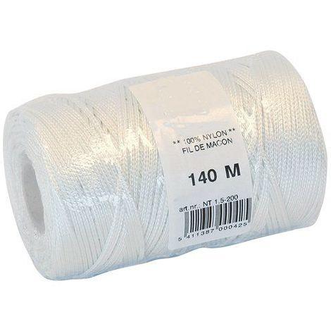 Cordeau Nylon Blanc Ø1.5mm