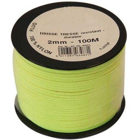Cordeau Nylon Fluorescent Ø3mm - 100 M