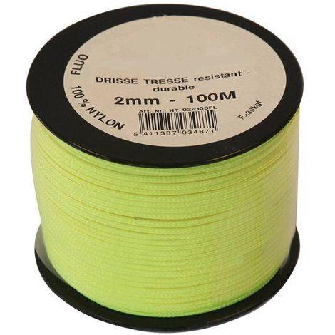 Cordeau Nylon Fluorescent Ø3mm - 500 M