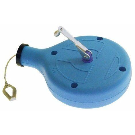 Cordeau traceur 30m contenance 100gr env rondeau bleu