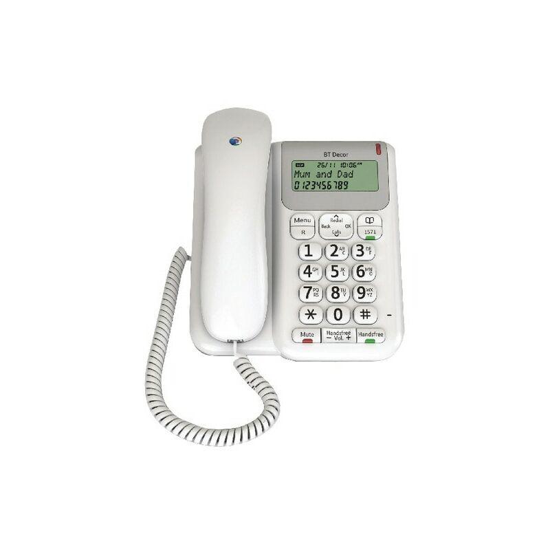 Image of BT 61127 Decor 2200 Corded Analogue Telephone
