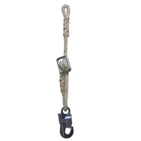 Cordino per cintura di posizionamento regolabile con connettore L max 2 mt