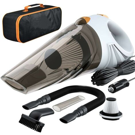 Cordless Car Vacuum Cleaner Handheld Wet & Dry Use Auto Vacuum