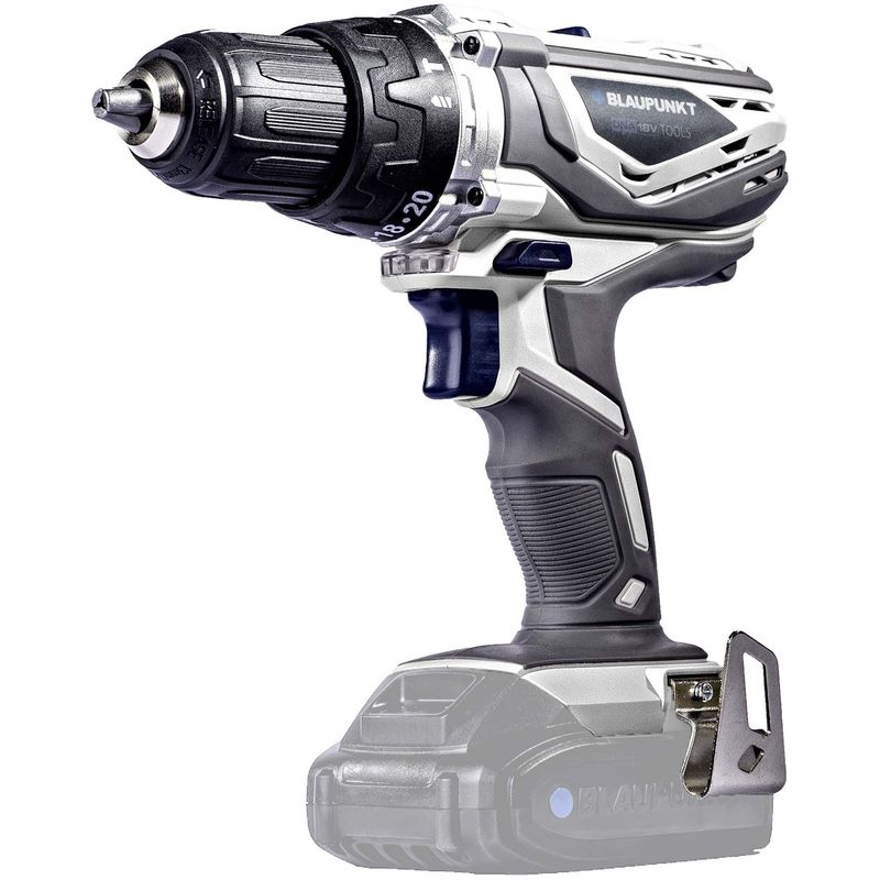 Image of Blaupunkt - Cordless Combi Drill - Li-Ion 18V - 13mm Keyless Chuck - Drill, Hammer and Screwdriver Functions - [ Power Tools DNA] (Bare Tool Only