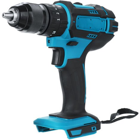 Cordless drill 350N.m 10 mm and impact function for Makita 18V battery