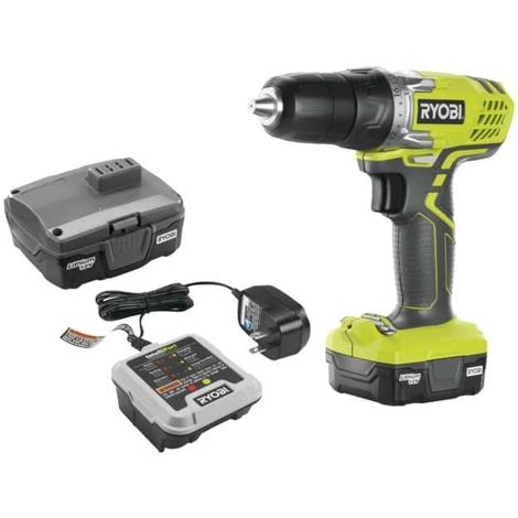 Cordless Drill RYOBI 12V Lithium - 1 battery 1.3Ah - 1 charger 3 hours R12SD-L13G