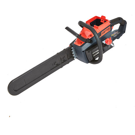 Cordless Easy Start 84V Chainsaw with 45cm Bar & 200 Cuts per Charge - Body ONLY