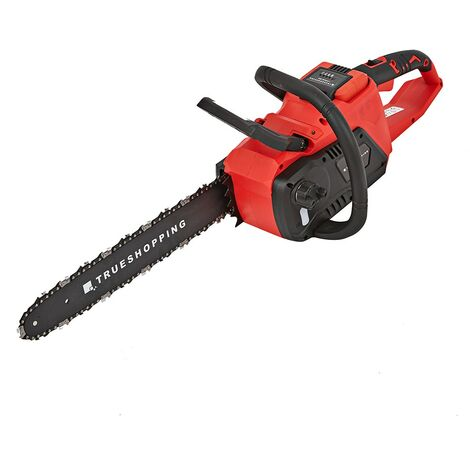 Cordless Electric Easy Start 36V Chainsaw with 40cm Bar, Brushless - BODY ONLY