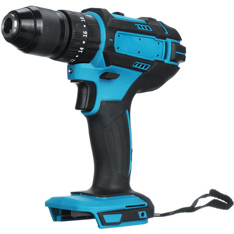 Cordless Hammer Drill 25-90 Nm torque 1500 rpm Suitable for Makita 18V battery