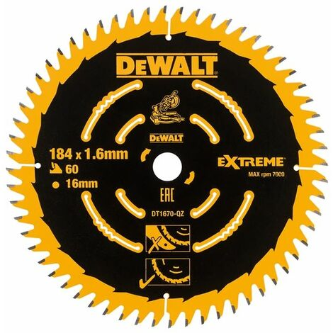Cordless Mitre Saw Blades, 184mm
