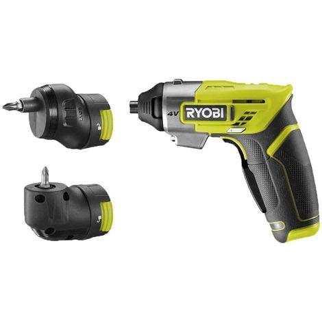 Cordless screwdriver RYOBI 4V Ergo - built-in 1.5 Ah battery - charger - ERGO-A2