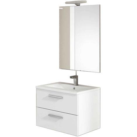 CORDOBA Conjunto mueble de baño blanco 60 cm