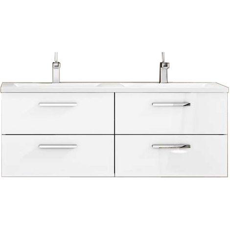CORDOBA Mueble de baño blanco 120 cm