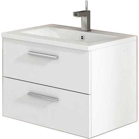 CORDOBA Mueble de baño blanco 60 cm