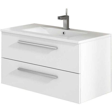 CORDOBA Mueble de baño blanco 80 cm