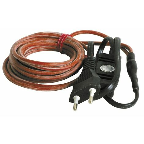 Cordon 3m 230V avec prise et thermostat - DIFF