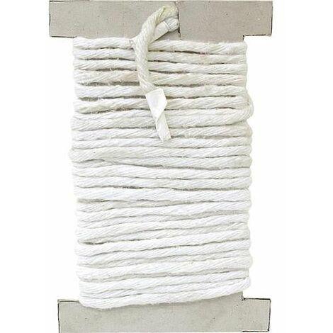 cordon d'etancheite sans amiante carre, 15x15 mm emballage 10 metres