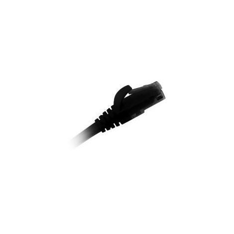 Cordon RJ45 CAT6 FTP/UTP 1 Mètre Noir