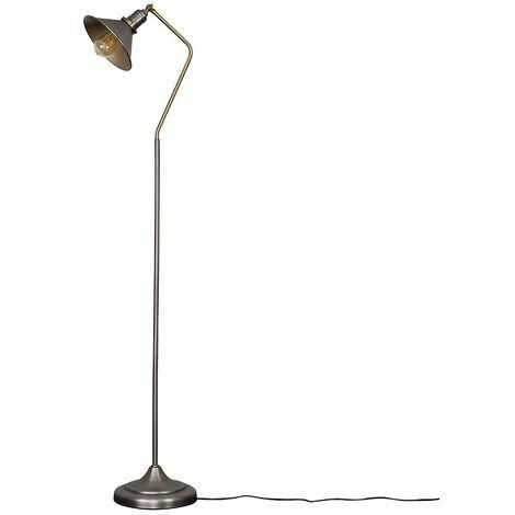 Corinthia Adjustable Reading / Craft Floor Lamp + LED Bulb