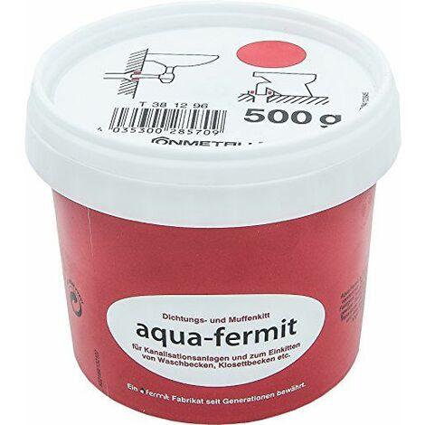 Cornat Aqua de Fermit et manchon de Joint mastic, spécialement conçu pour einkitten de/t627801Bac dans le domaine de raccordement à laver les gouts, 500g, 1pièce, t381296