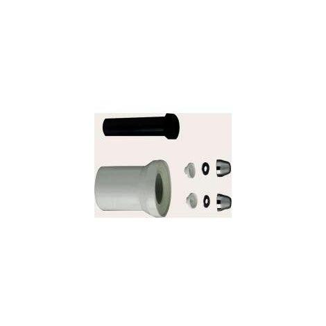 Cornat CKAG80 Kit de raccordement pour toilettes encastrées 90 à 180 mm