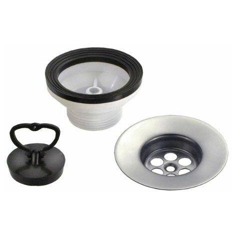 CORNAT T352504 1,5 mm x 45 mm x 85 mm-Diamètre: évier avec bonde de vidage