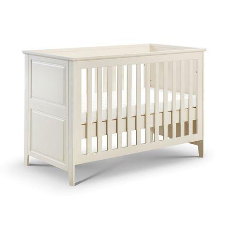 Cornelia Nursery Cot Bed Crib Stone White