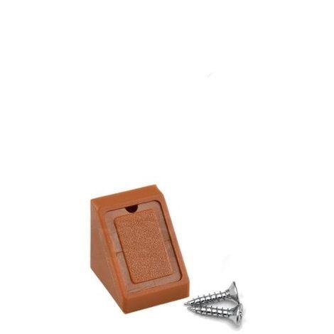 Corner Blocs d'etagere de connexion, Support de support d'etagere Fixation de plinthe en plastique (Paquet de 50) Beech Art: 29-1.4.1.090 / 3-24