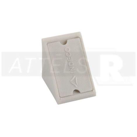 Corner Blocs d'etagere de connexion, Support de support d'etagere Fixation de plinthe en plastique (paquet de 50) gris Art: 29-84006007