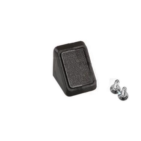 Corner Blocs d'etagere de raccordement, Support de support d'etagere Fixation de plinthe en plastique (Paquet de 50) Art noir: 29-1.4.1.090 / 6-24