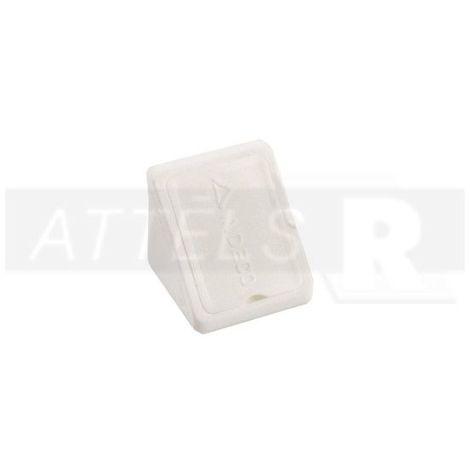 Corner Blocs d'etagere de raccordement, Support d'etagere Plinthe en plastique Fixation (Paquet de 50) blanc Art: 29-84006000